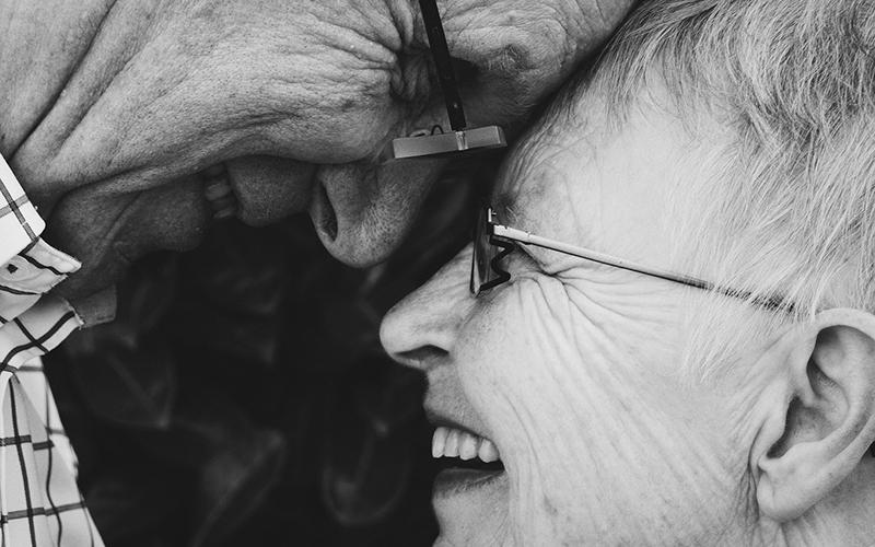 happy couple, Alzheimer's, gum disease, Darlene Sand Wall DMD, dentistry